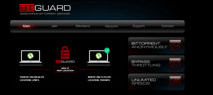 BTGuard has an encrypted SOCKS proxy